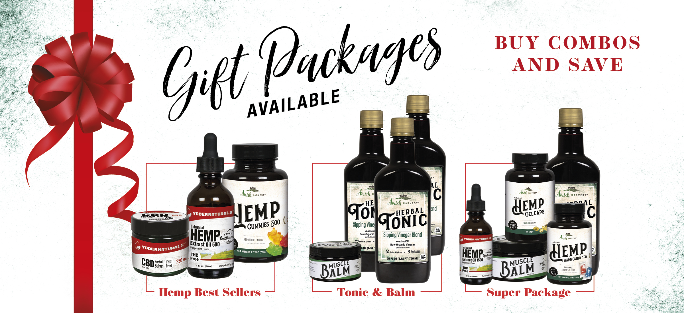 Gift Packages Available