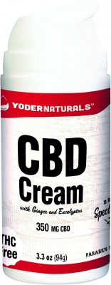 CBD Cream open