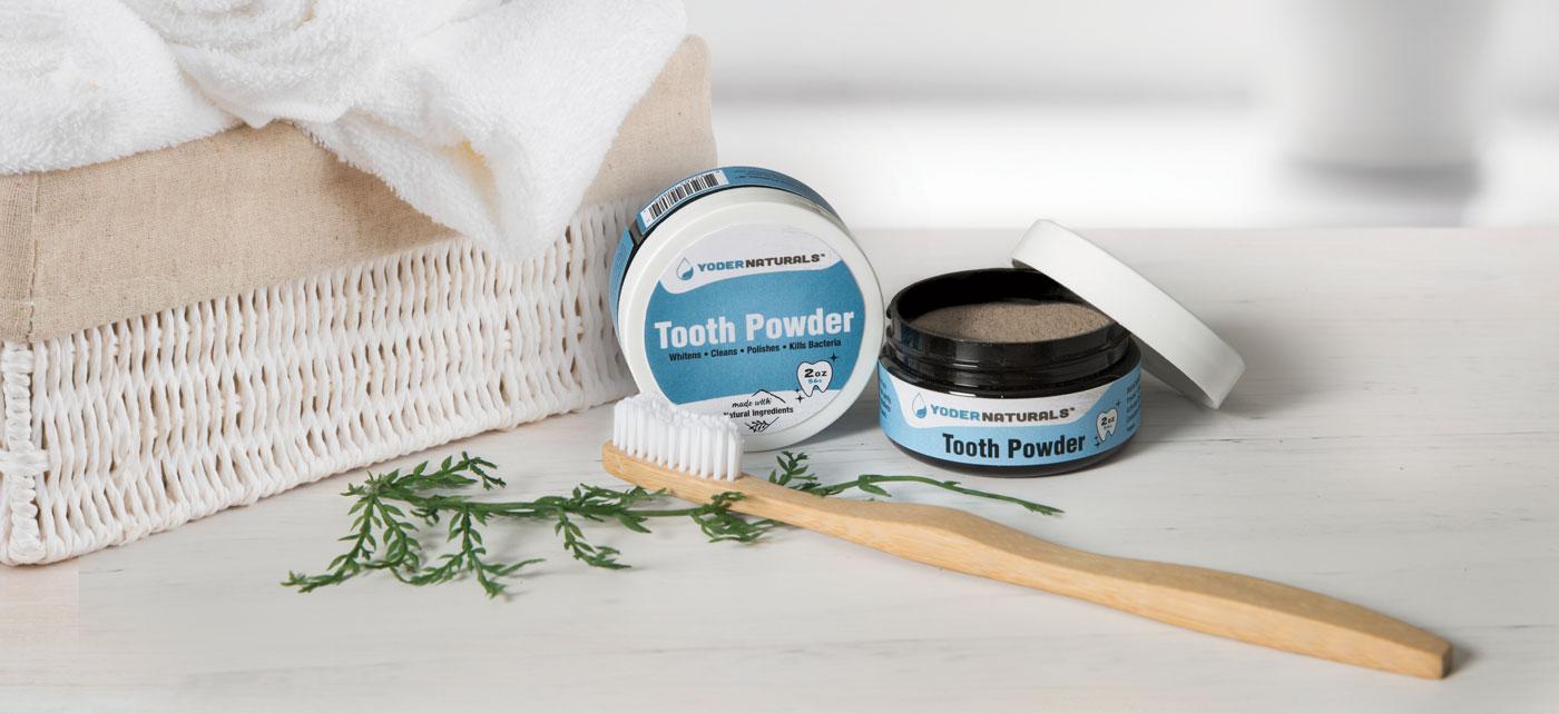 Yoder Naturals Tooth Powder